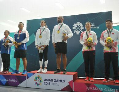Trap Mixed Team - Final (18th Asian Games 2018)