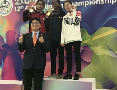 10m Air Rifle Women Results - 12th Asian Airgun Championship, TPE