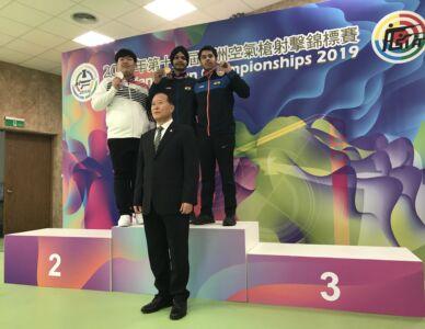 10m Air Pistol Men Junior Results - 12th Asian Airgun Championship, TPE