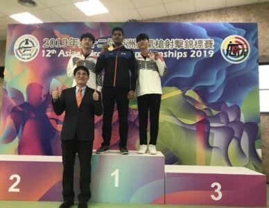 10m Air Rifle Men Results - 12th Asian Airgun Championship, TPE