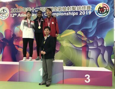 10m Air Pistol Women Junior Results - 12th Asian Airgun Championship, TPE