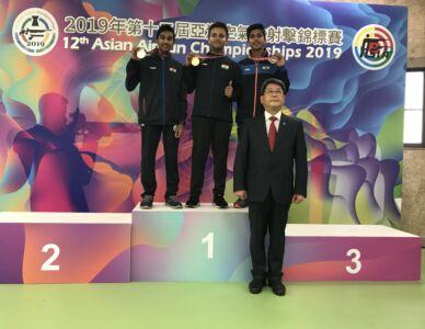 10m Air Rifle Men Juniors Results - 12th Asian Airgun Championship, TPE