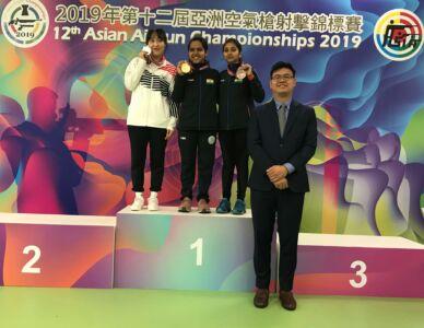 10m Air Rifle Women Juniors Results - 12th Asian Airgun Championship, TPE