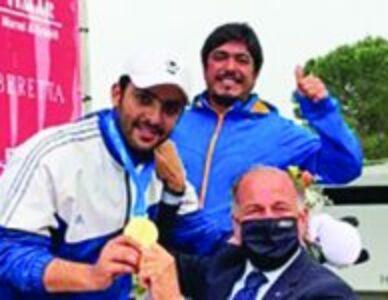 Talal Al-Rashidi (KUW) wins gold at ISSF World Cup in Lonato, Italy