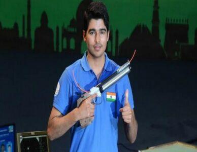 India Won Bronze Medal In 10m Air Pistol Men At ISSF World Cup Rifle/Pistol/Shotgun In Osijek, Croatia.