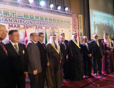 12th Asian Airgun Championship, TPE